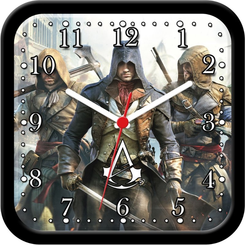 Relógio de parede divertido - Assassin's Creed Unity