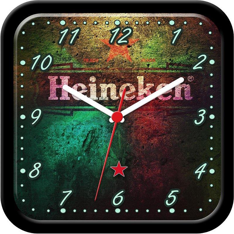 Relógio de parede divertido - Cerveja Heineken Parede