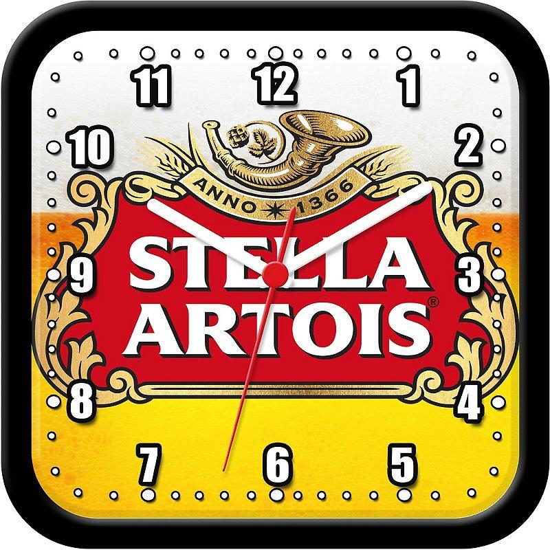 Relógio de parede divertido - Cerveja Stella Artois