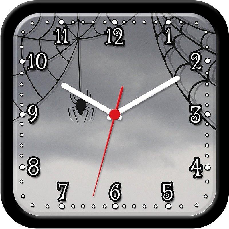 Relógio de Parede Divertido - Aranha Mistério