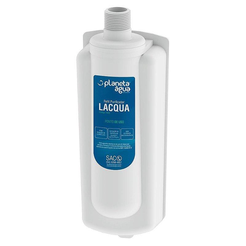 Refil para Purificador de Água Latina - LACQUA (Planeta Água)