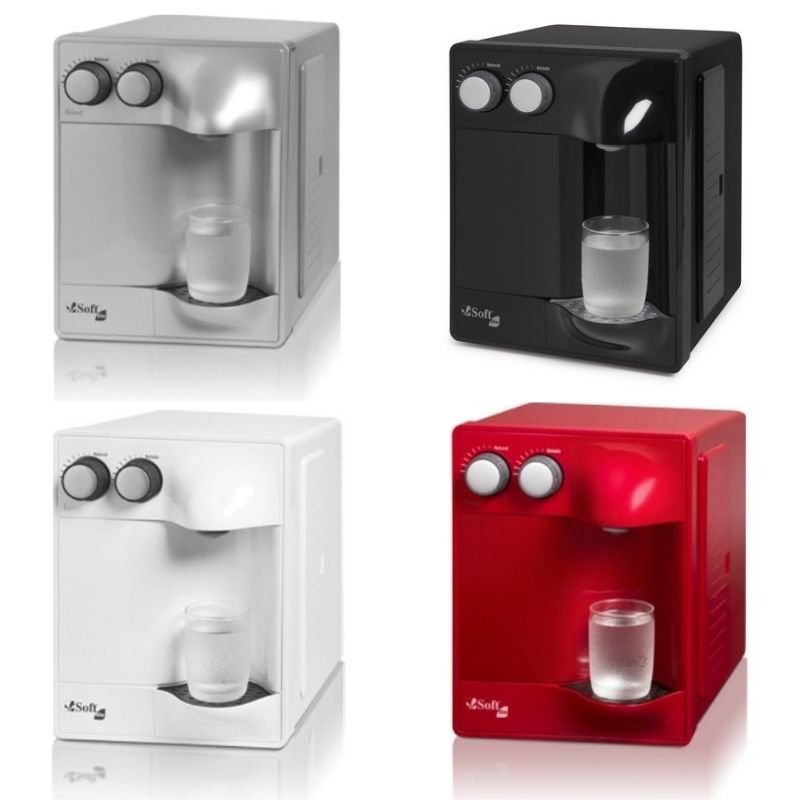 SOFT modelo SLIM - cores: Branco, Preto, Prata e Cereja