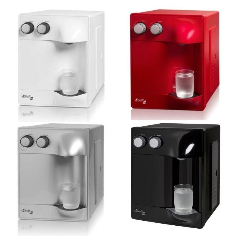 SOFT modelo PLUS - cores: Branco, Preto, Prata e Cereja