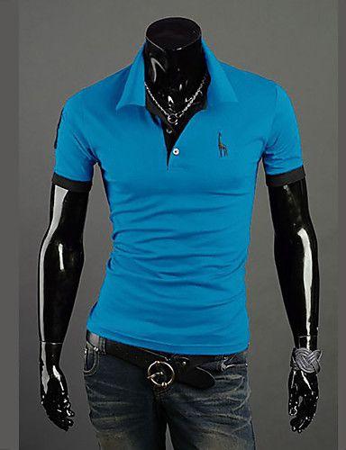Camisa Polo Casual Colarinho - Camisas Luxury  Loja Online de ... ded695fc3a0e5