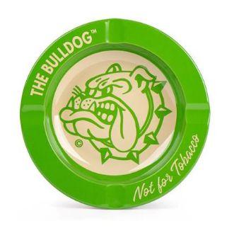 Cinzeiro Metal The Bulldog - Verde