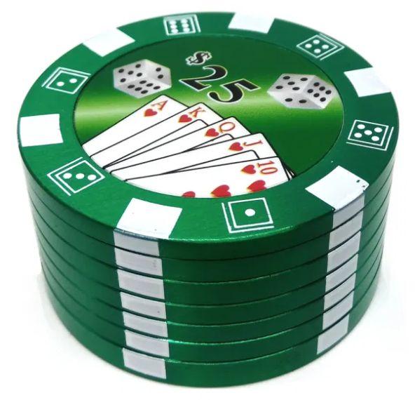 Triturador Metal Ficha de Poker