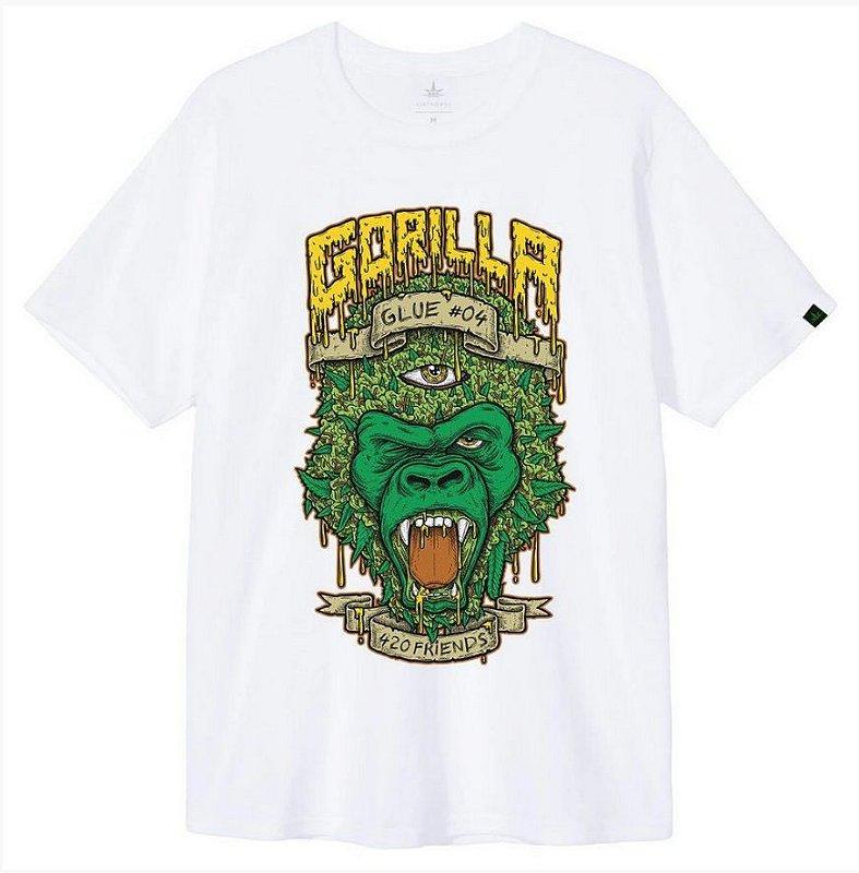 Camiseta 420 Friends Gorilla Glue