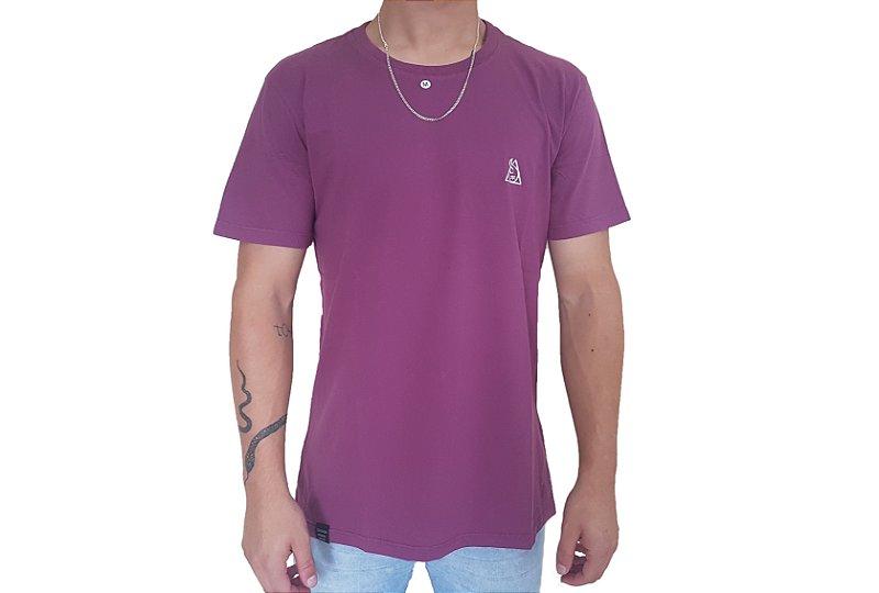 Camiseta Squadafum Logo Roxa