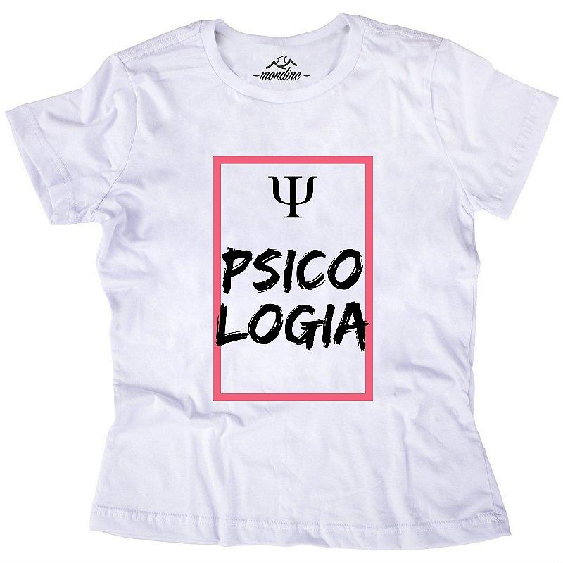 Camiseta Baby Look - Psicologia - Mondine