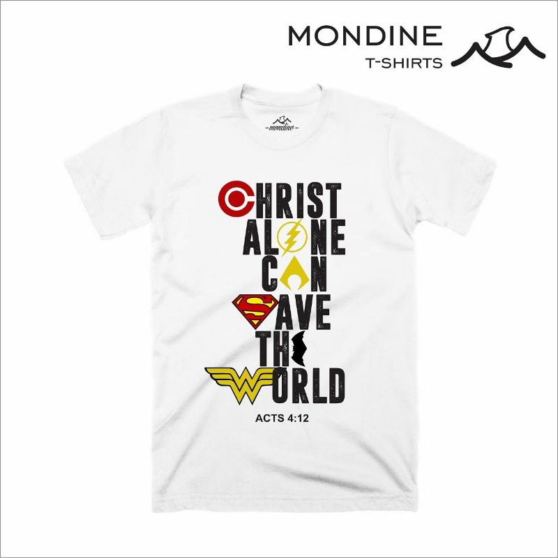 Camiseta - Christ Alone Can Save the World