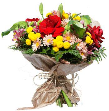 Arranjo Mix Flores e Rosas colombianas