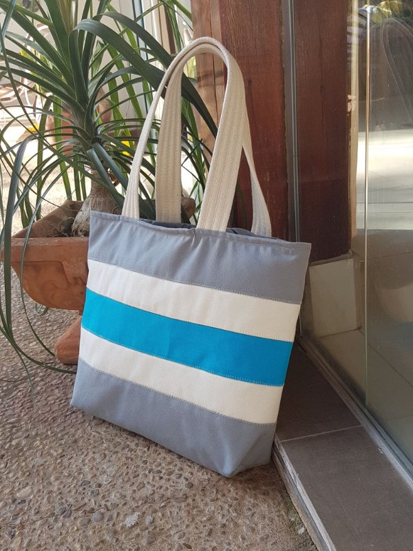 Bolsa de lona clube da praia