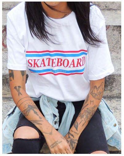 7f058f142 Camiseta Skateboard Melancia - Loja Minas no Skate