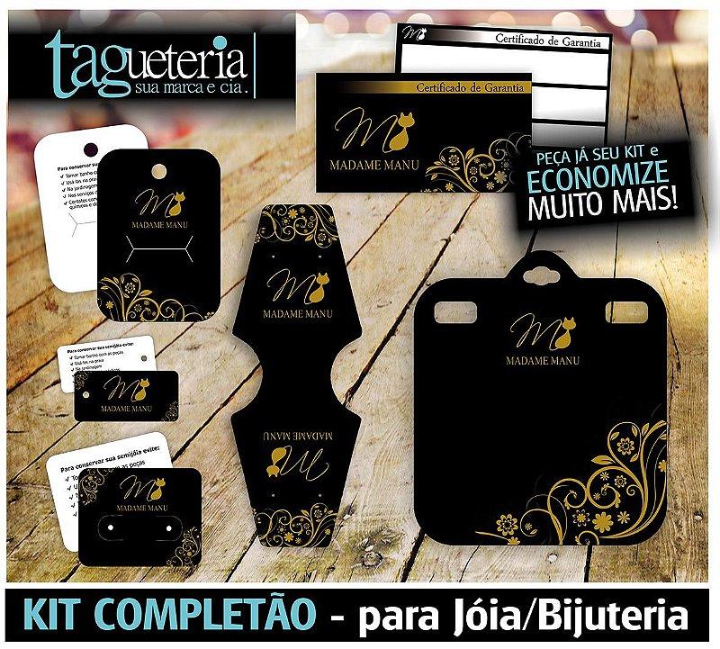 Kit Tags/Cartelas para Bijuteria - Personalizado - 6 Itens