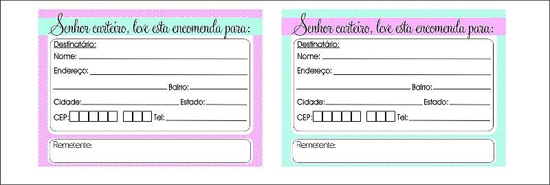 Adesivo para Correspondência / Correios