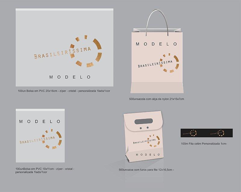 Kit Cartelas e Embalagens Exclusivo
