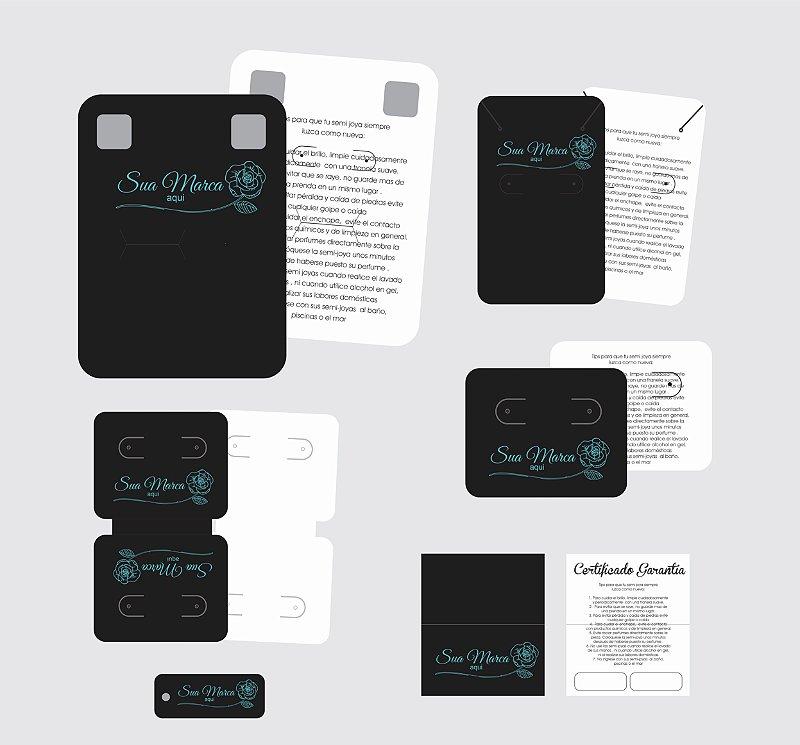 Kit para Bijuteria Joinha - Light - Personalizado - 6 Itens