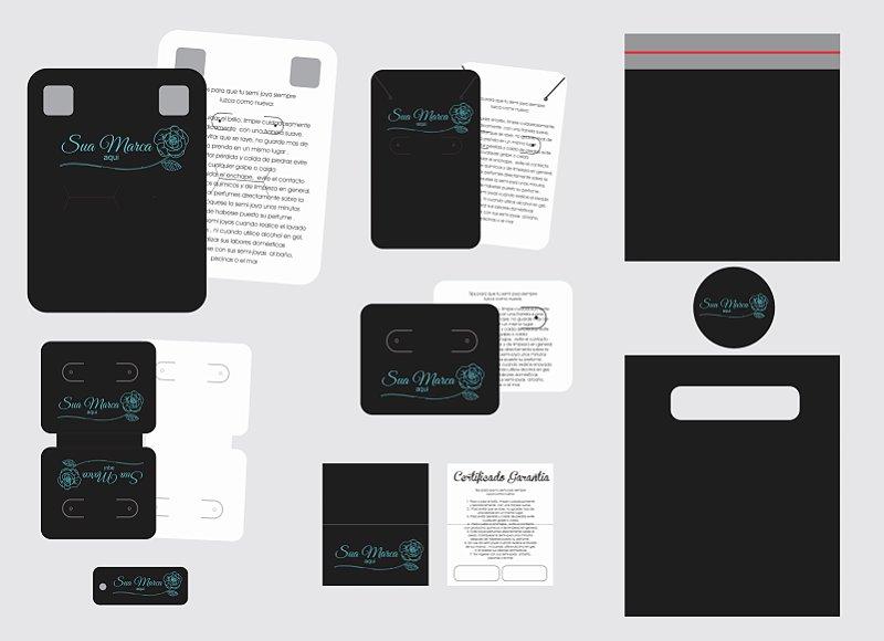 Kit para Bijuteria Joinha - Light Plus - Personalizado - 9 Itens