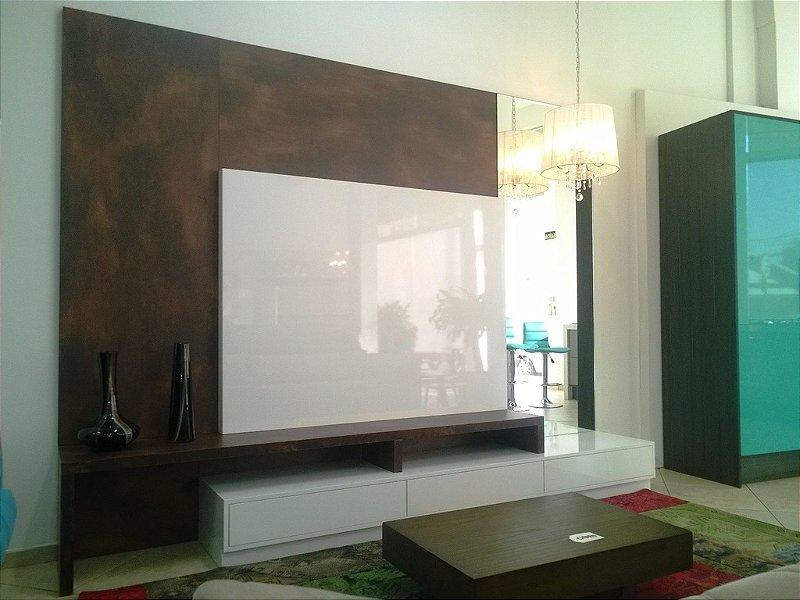 Home Theater, Painel para TV sob Medida com Laca Alto Brilho, solicite orçamento.