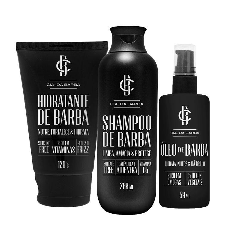 Kit para Barba Completo - Cia. da Barba