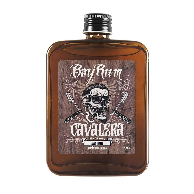 Loção Pós-Barba Bay Rum 100ml - Cavalera