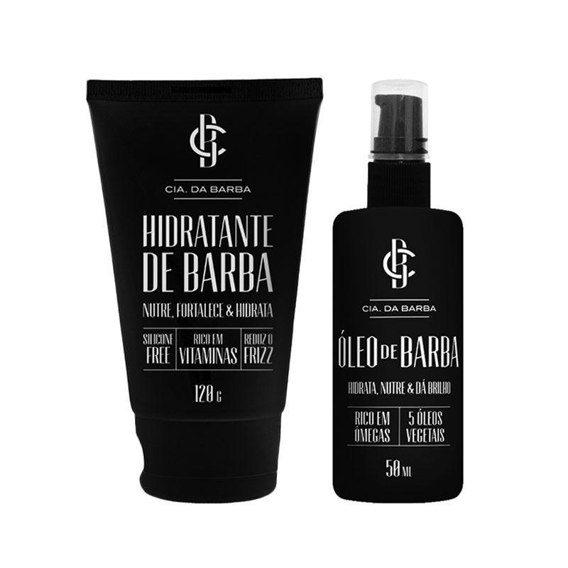Kit Hidratante e Óleo de Barba - Cia. da Barba