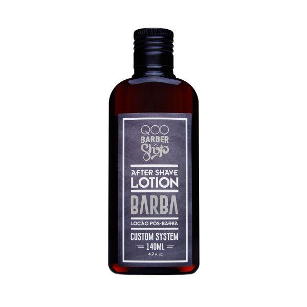 Loção Pós-Barba Custom System 140ml - QOD Barber Shop