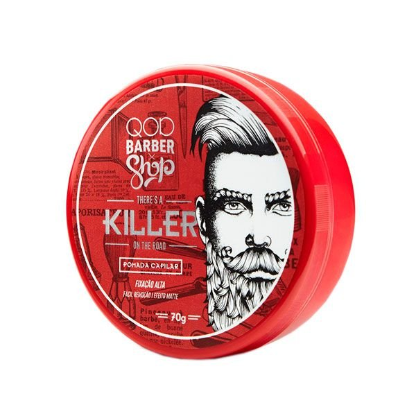 Pomada Modeladora Killer 70g - QOD Barber Shop