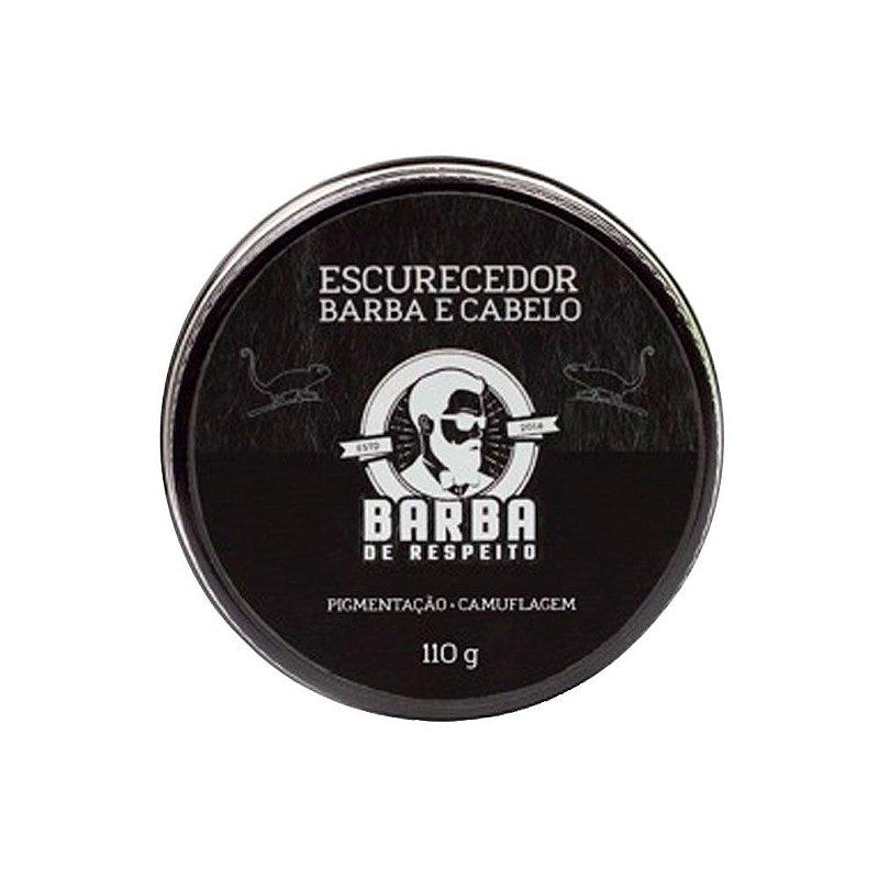 Balm Escurecedor de Barba e Cabelo 110g - Barba de Respeito