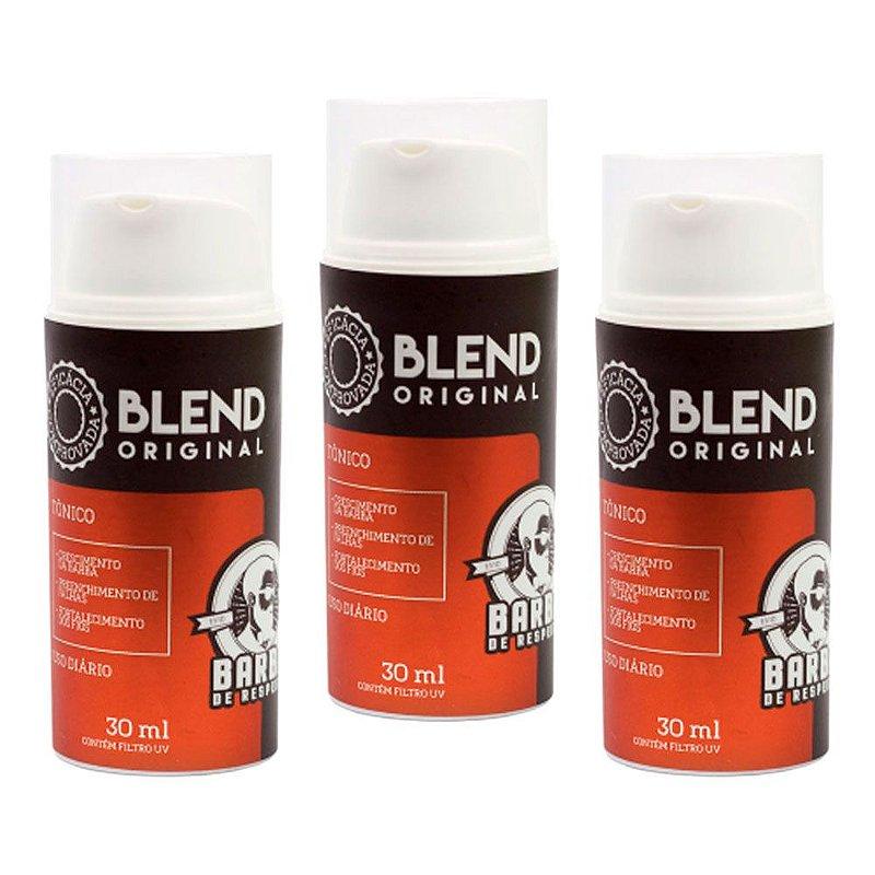 Kit c/ 3 Blends para Crescimento de Barba Original - Barba de Respeito