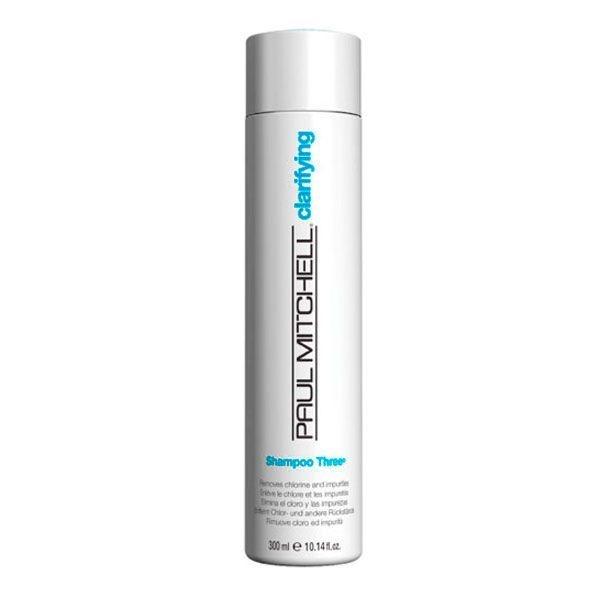 Shampoo Antirresíduos Three 300ml - Paul Mitchell