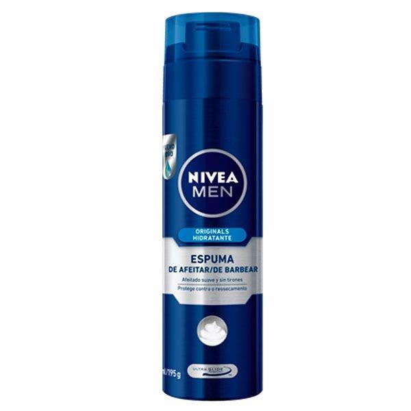 Espuma de Barbear Originals Hidratante 200ml - Nivea Men