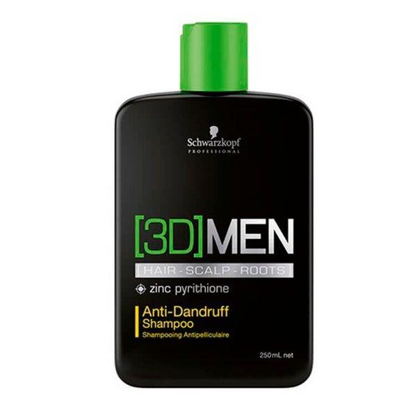 Shampoo Anti-Caspa Anti-Dandruff 250ml - 3D Men