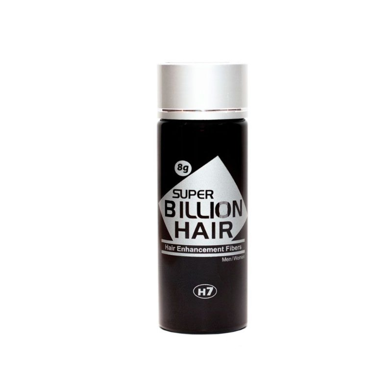 Disfarce para Calvície Preto 8g - Super Billion Hair