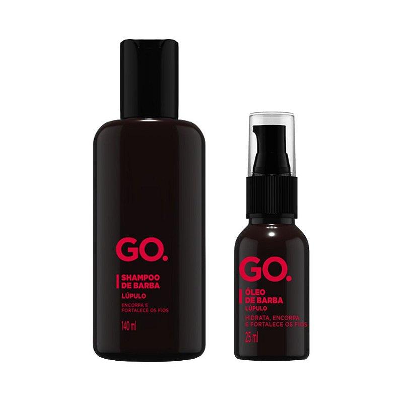 Kit Shampoo e Óleo de Barba Lúpulo - Go.
