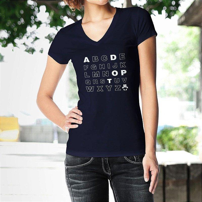 Camiseta Alfabeto – ADOPT