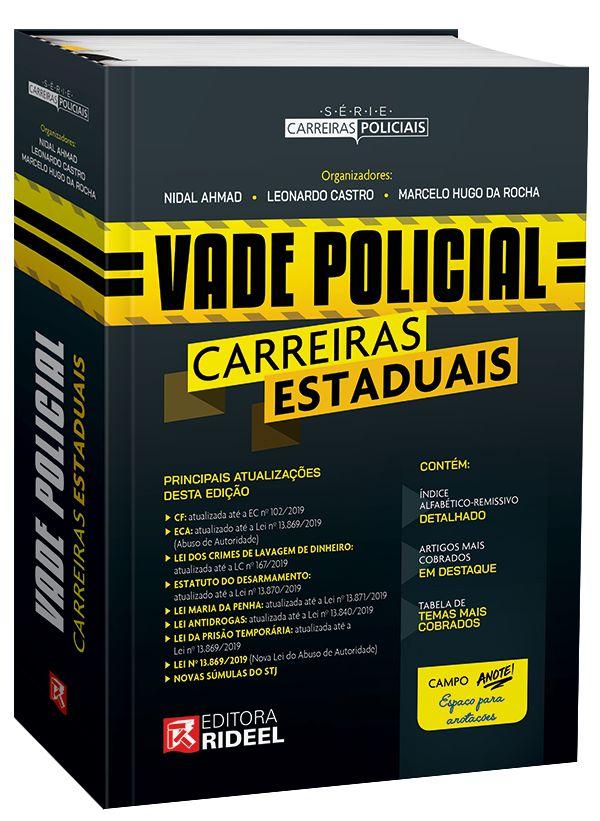 Vade Policial Carreiras Estaduais - 1ª edição - Loja Rideel