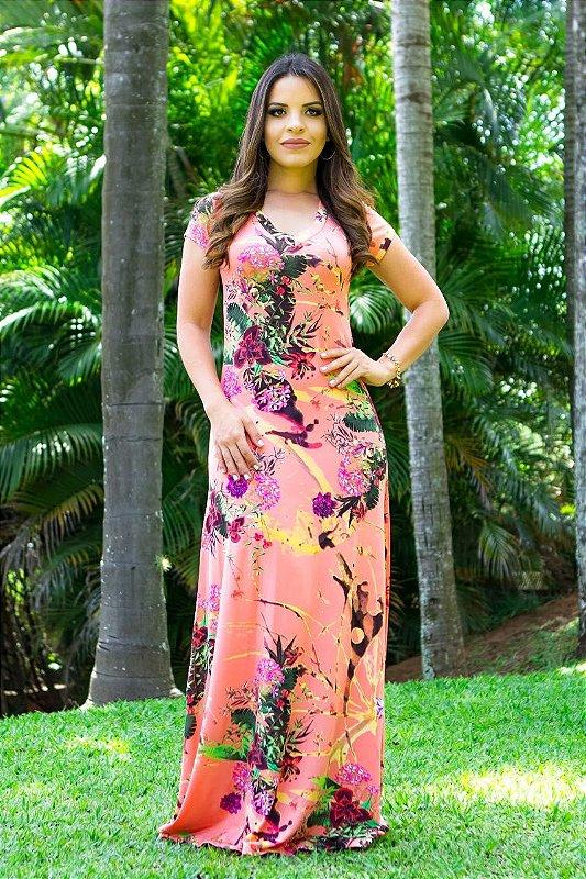 Vestido Luxo Flower