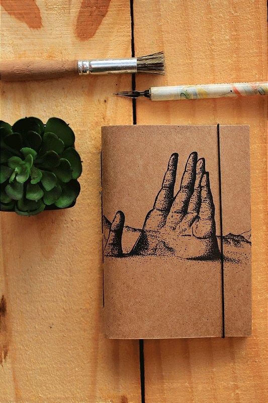Caderno artesanal a6 - Lucas Borges