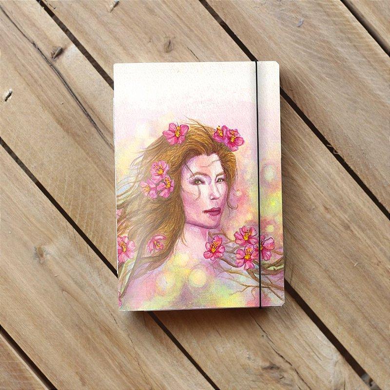 Caderneta artesanal Life's about get good - Edição limitada