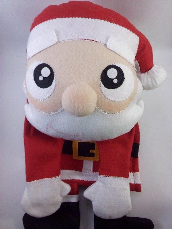 Suporte para papel Higiênico + porta rolo Papai Noel