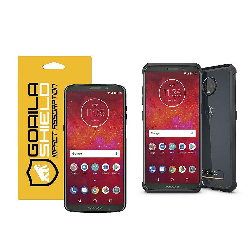 Kit Capa Armor e Peli?cula de vidro dupla para Iphone 6 e 6s - Gorila Shield