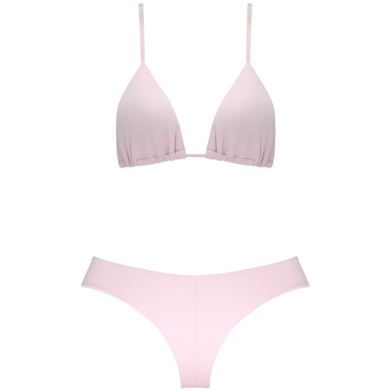 ROSA BLUSH - TOP CORTININHA ALÇA REGULÁVEL | BOTTOM NOVO CORTE LARGO