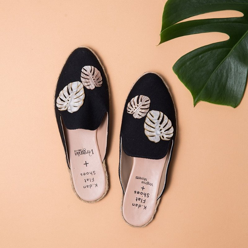 Mule Costela de Adão K.dan Flat Shoes + Virginia Moretti