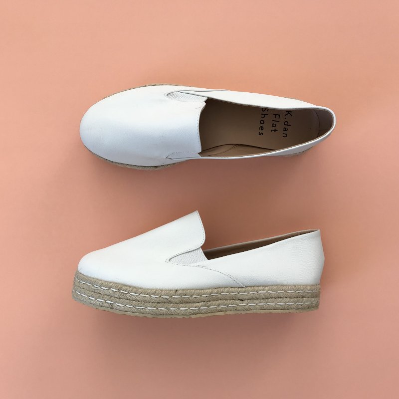 Slip On Double Branco