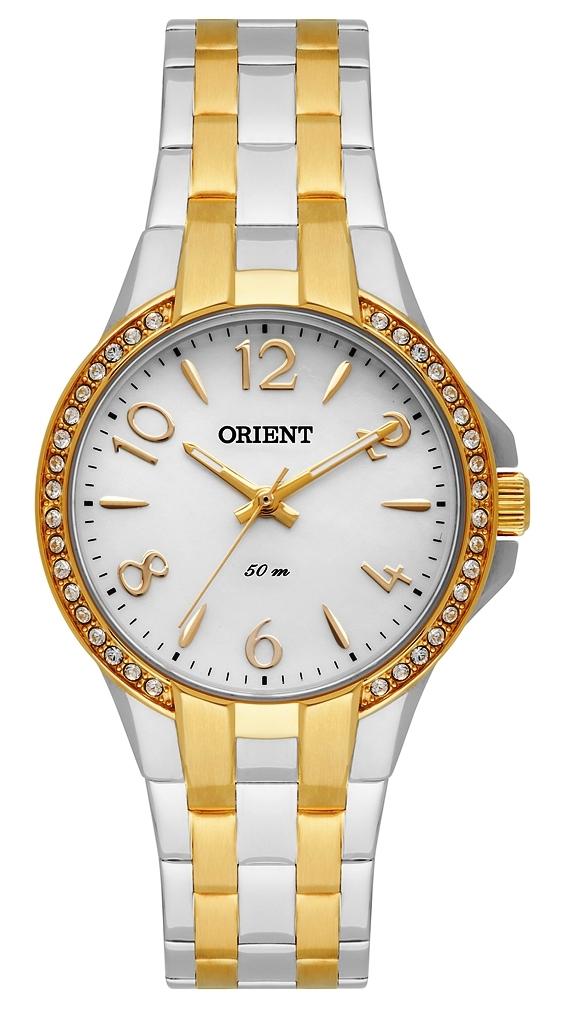 Relógio Orient Feminino Eternal Cristais Swarovski Analógico ... 821de99796