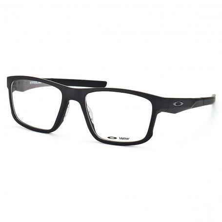 9f347697f85ef Armação Óculos de Grau Oakley Masculino Hyperlink OX8078-01. Armação Óculos  de Grau Oakley Masculino Hyperlink ...