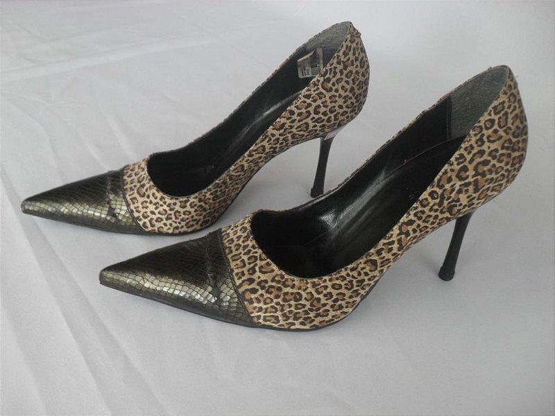 Sapato Onça - Semi Novo!