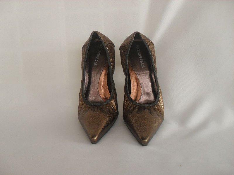 Sapato Ouro Velho - Novo!