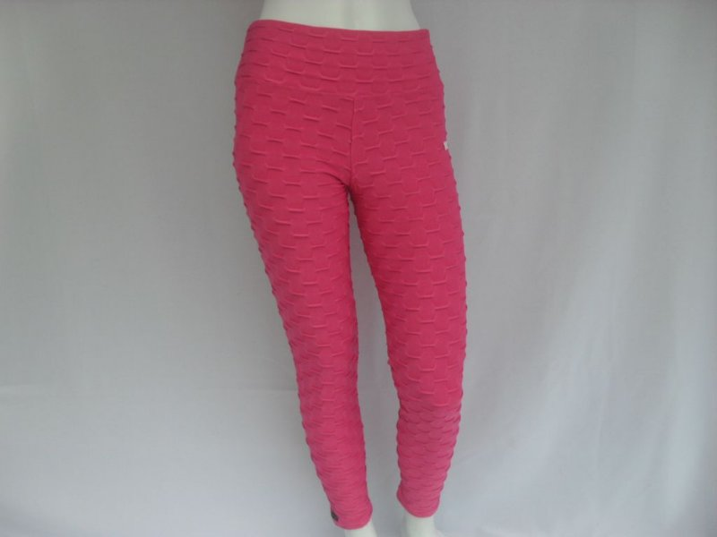 Calça Fuseau Pink Ondas - Nova!